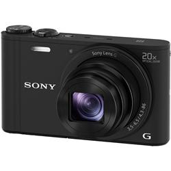 ソニー DSC-WX350/B デジタルスチルカメラ Cyber-shot WX350 (1820万画素CMOS/光学x20) ブラック