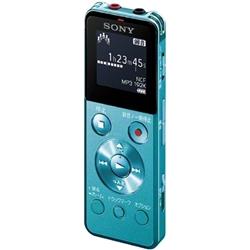 ソニー ICD-UX544F/L ステレオICレコーダー FMチューナー付 8GB ブルー