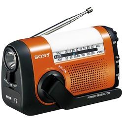 ソニー ICF-B08/D FM/AMポータブルラジオ オレンジ