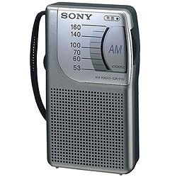 ソニー ICR-P15 AM専用ハンディポータブルラジオ