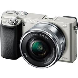 ソニー ILCE-6000L/S デジタル一眼カメラ α6000 パワーズームレンズキット シルバー