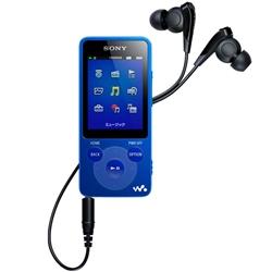 ソニー NW-E083/L ウォークマン Eシリーズ 4GB ブルー