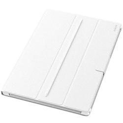 ioPLAZA【アイ・オー・データ直販サイト】ソニー SCR12/W Xperia Z2 Tablet用スタンド機能付きフリップ/ブックレットスタイル保護カバー W