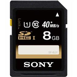 ソニー SF-8UY SDHCメモリーカード UHS-I 8GB Class10