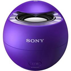 ソニー SRS-X1/V ワイヤレスポータブルスピーカー バイオレット