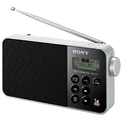 ソニー XDR-55TV/B ワンセグTV音声/FMステレオ/AMラジオ ブラック