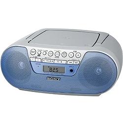 ソニー ZS-S10CP/L CDラジオ S10CP ブルー