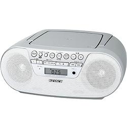 ソニー ZS-S10CP/W CDラジオ S10CP ホワイト