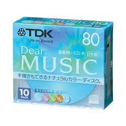 【クリックで詳細表示】TDK CD-RDE80CMX10N
