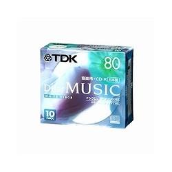 【クリックで詳細表示】TDK CD-RDE80PWX10N