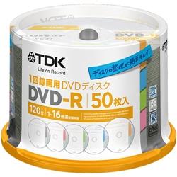 TDK DR120DTC50PA 録画用DVD-R 16倍速 タイトルディスク