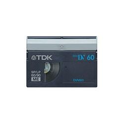 TDK DVM60BUX5A Mini DV 60min ブルー5巻パック