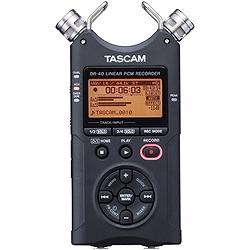 ティアック DR-40 リニアPCMレコーダー TASCAM DR-40