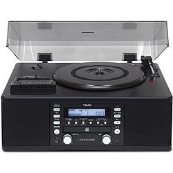 ティアック LP-R550USB-B ターンテーブル/カセットプレーヤー付CDレコーダー