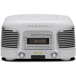 ティアック SL-D930-W 2.1ch CD/ラジオ搭載プレミアムBluetoothスピーカーシステム