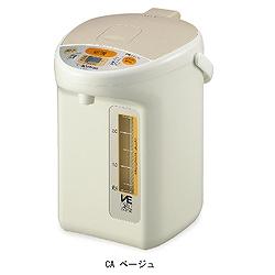 象印マホービン CV-TT30(CA) スーパーVE省エネ電動ポット 優湯生 3.0L