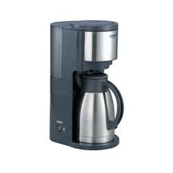 象印マホービン ECJS80(HM) ステンレスサーバーコーヒーメーカー カップ8杯タイプ ダークグレー