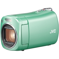 JVCケンウッド(ビクター) GZ-N1-G 8GBハイビジョンメモリームービー(グリーン)