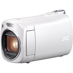JVCケンウッド(ビクター) GZ-N1-W 8GBハイビジョンメモリームービー(ホワイト)