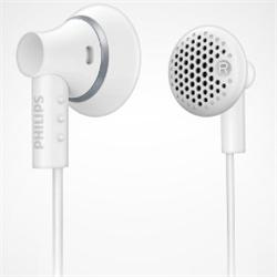 フィリップス SHE3000WT インイヤー パッドタイプ(低音の効いたクリアな音) ホワイト