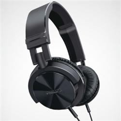 ioPLAZA【アイ・オー・データ直販サイト】フィリップス SHL3000 ヘッドバンド(快適な装着感 DJスタイルヘッドホン) ブラック