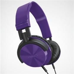 ioPLAZA【アイ・オー・データ直販サイト】フィリップス SHL3000PP ヘッドバンド(快適な装着感 DJスタイルヘッドホン) パープル