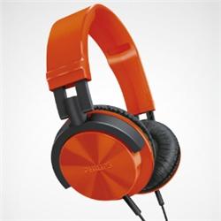 ioPLAZA【アイ・オー・データ直販サイト】フィリップス SHL3000RD ヘッドバンド(快適な装着感 DJスタイルヘッドホン) オレンジ