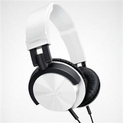 ioPLAZA【アイ・オー・データ直販サイト】フィリップス SHL3000WT ヘッドバンド(快適な装着感 DJスタイルヘッドホン) ホワイト