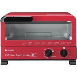 小泉成器 KOS1202R ハイパワー1200W オーブントースター レッド