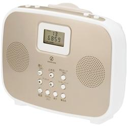 小泉成器 SAD4308N シャワーCDラジオ ゴールド