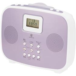 小泉成器 SAD4308P シャワーCDラジオ ピンク