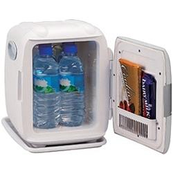 ツインバード工業 HR-D206GY 2電源式コンパクト電子保冷保温ボックス D CUBE S