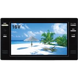ツインバード工業 VB-J16B 16V型浴室テレビ(ブラック)