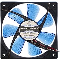 アイネックス CFZ-120GBL OMEGA TYPHOON G LED 120mm 究極静音タイプ