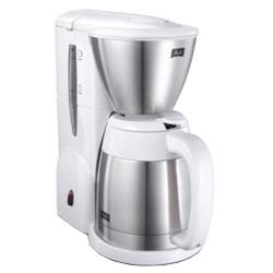 メリタジャパン MKM-531/W コーヒーメーカー アロマサーモステンレス2 ピュアホワイト