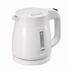 タイガー魔法瓶 PCF-A080W TIGER 電気ケトル (0.8L) ホワイト PCF-A080W
