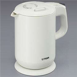 タイガー魔法瓶 PCG-A100W TIGER 電気ケトル (1.0) ホワイト PCG-A100W