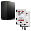 IO DATA IPHL2-AA0 と Western Digital WD40EFRX-RT2 2台 のセット