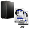 IO DATA IPHL2-AA0 と Western Digital WD60EZRZ-RT 2台 のセット