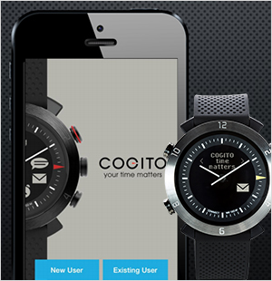 専用アプリ「CONNECTED WATCH」